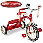 Tricycle R�tro rouge Classic Radio Fl...