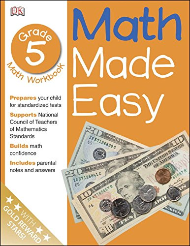 Math Made Easy: Fifth Grade Workbook (Fractions Made Easy compare prices)