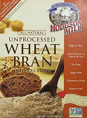 Hodgson Mill Unprocessed Wheat Bran -- 14 oz