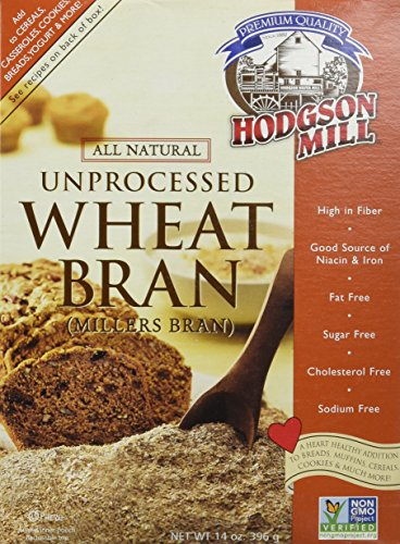 Hodgson Mill Unprocessed Wheat Bran -- 14 oz