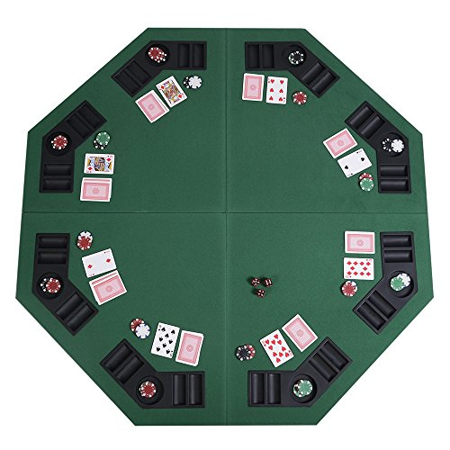 Poker Table Top 8 Player 48