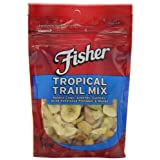 Fisher Tropical Trail Mix, 3.5-Ounce (Pack of 6) by Fisher