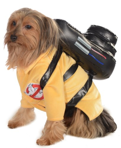 Rubies Costume Ghostbusters Movie Collection Pet Costume, Large, Ghostbuster Jumpsuit