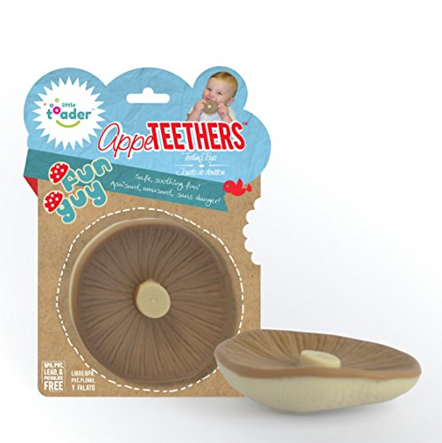 Little Toader Teething Toys, Funguy Appe-Mushroom Teethers