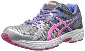 ASICS Women's Gel-Contend 2 Running Shoe,Lightning/Hot Pink/Periwinkle Blue,8.5 M US