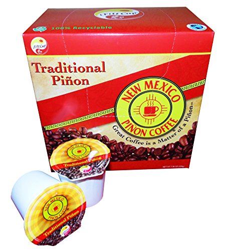 NM Pinon Coffee Single Serve Cups (Traditional Pinon) (New Mexico Pinon Coffee Beans compare prices)