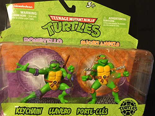 Teenage Mutant Ninja Turtles Collectible Figurines Assorted (Donatello & Michelangelo)