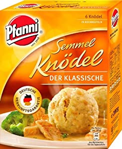 Pfanni bread dumplings from Unilever