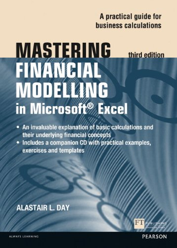 Mastering Financial Modelling in Microsoft Excel 3rd edn:A            Practitioner's Guide to Applied Corporate Finance (The Mastering Series)