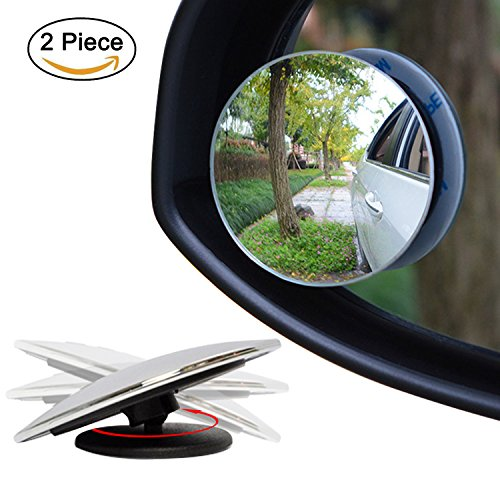 Video Review Ampper Blind Spot Mirror 2 Quot Round Hd Glass