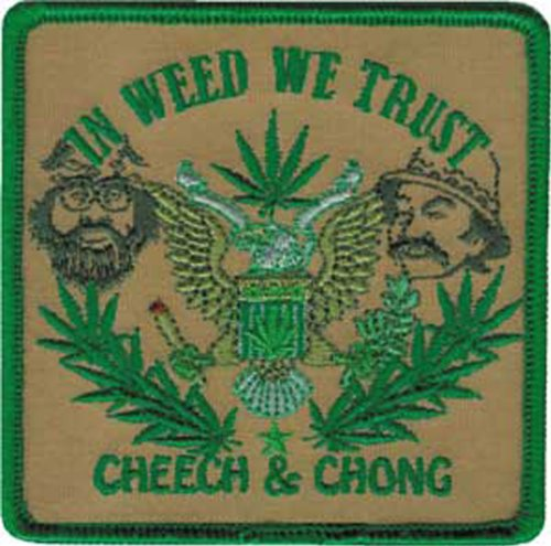Application In Weed We Trust Patch