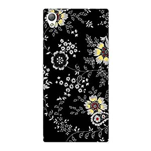Delighted Classic Flower Back Case Cover for Sony Xperia Z3