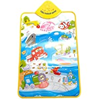 Binmer(Tm)Kid Baby Musical Carpet Touch Play Singing Gym Music Mat Toy Gift