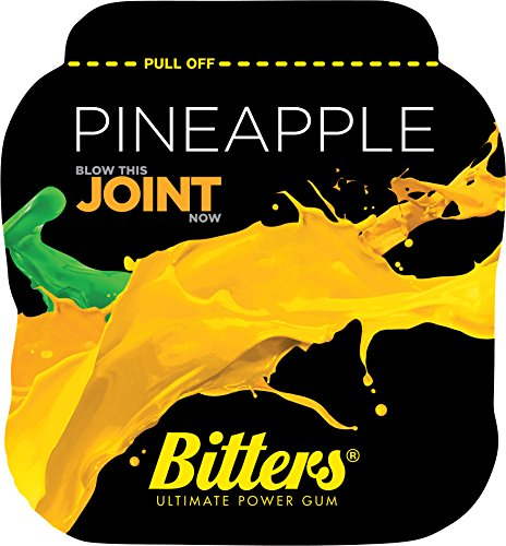 bitters-energy-chewing-gum-with-caffeine-and-taurine-box-of-10-units-of-1-pack-pineapple-bitters-ene
