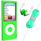 LoopSiliconCase iPodnano4G Starter Green