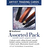 Strathmore Artist Trading Cards 2 1/2 in. x 3 1/2 in. Assorted Pack 12 cards