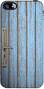 Snoogg Old Wooden Door Designer Case Cover For Apple Iphone 5C / 5C