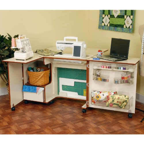 Kangaroo Kabinets Wallaby Sewing Cabinet with Free Chair