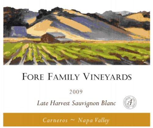 2009 Fore Family Vineyards Napa Carneros Late Harvest Sauvignon Blanc 375 Ml