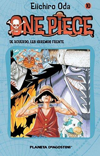 One Piece nº 10: De acuerdo, les haremos frente (Manga)