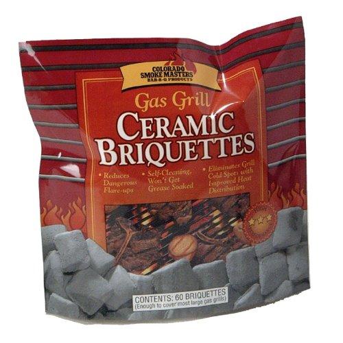 21St Century B42A1 60-Piece Gas Grill Ceramic Briquettes