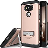 LG G5 Case, OBLIQ [Skyline Advance][Rose Gold] with Metal Kickstand Thin Dual Layered Metallic Heavy Duty Hard Protection Hybrid High Quality Case for LG G5 (2016)