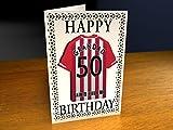 Southampton F.C - PERSONALISED Greetings Card (MAGNET)
