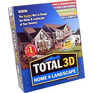 Individual prx hl9 total 3d home and landscape for Home landscape design suite 8 0