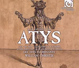 LULLY. Atys. Les Arts Florissants/Christie (CD+Book)