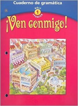 Amazon.com: Ven Conmigo! Cuaderno de Gramatica: Cuaderno de Gramatica