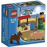Lego city 7566 - Le fermier