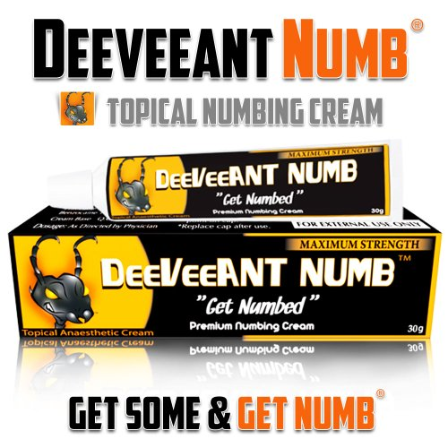 Learn More About Numbing Cream Anesthetic - Strong Fast Acting DEEVEEANT NUMB® - 1x10g - Lidocaine ...