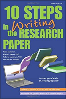 steps to follow in making research paper