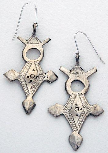 Earrings - African Tribal Cross