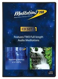 Meditations2Go Guided Audio Meditations CD Set 1