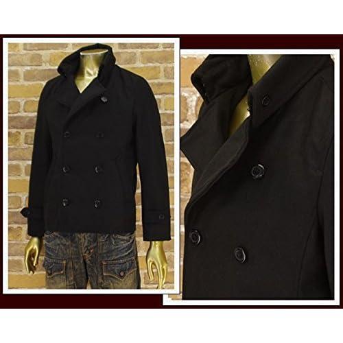ビーノ BENO ナポレオンコート ウールジャケット メンズ 433W9760-09 ブラック M