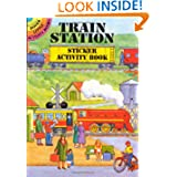 Train Station Sticker Activity Book (Dover Little Activity Books)