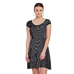 Nun Women's Dress (NUNDR6655_Black_Medium)