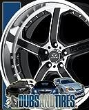 "Lorenzo WL21 Wheel with Matte Black Machined (18x9.5""/5x112mm)"