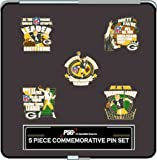 Green Bay Packers Brett Favre 5 Piece Commemorative Hat Pin Collectible Gift Set Amazon.com