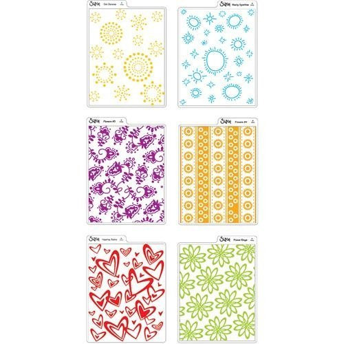 Sizzix Texturz Texture Plates-Kit #3 (Sizzix Texture Starter Kit compare prices)
