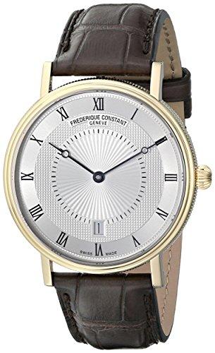 Frederique Constant Geneve Slimline Classics FC-306MC4S35 Reloj Automático para hombres Plano & ligero