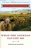 img - for What the Animals Taught Me: Stories of Love and Healing from a Farm Animal Sanctuary [Paperback] [2012] (Author) Stephanie Marohn book / textbook / text book