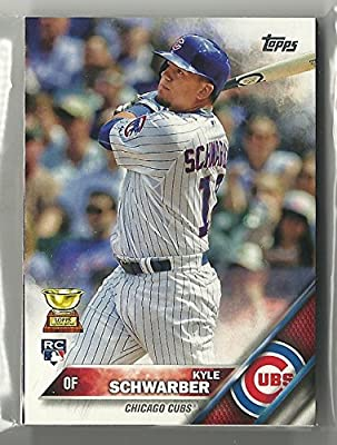 2016 Topps Series 1 Chicago Cubs Team Set 12 Cards Kyle Schwarber Rookie Card Kris Bryant