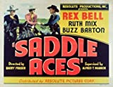 Saddle-Aces-POSTER-Movie-1935-Style-A-11-x-14-Inches---28cm-x-36cm-Rex-BellRuth-MixBuzz-BartonStanley-BlystoneEarl-Dwire