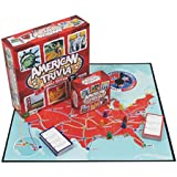 Trivia Game - American Trivia Family Edition Board Game (Ages 9+)