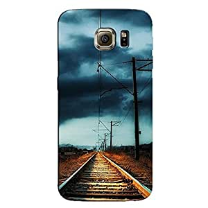 RAIL TRACK LIBE BACK COVER FOR SAMSUNG GALAXY S6