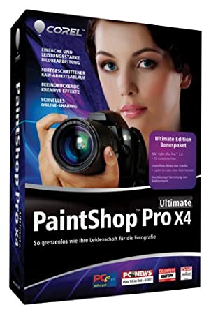 PaintShop Pro X4 Ultimate