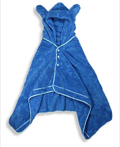 Kal-Microfiber-Hooded-Baby-Wrappie-Wrap-Bathroom-drying-Robes-with-3M-Scotchgard-Proctecction-Blue