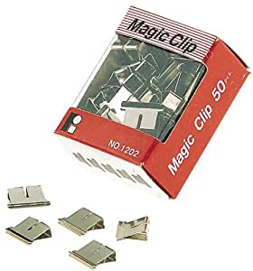 Amazon.com: JPC 750911 4mm Chrome Plated Clips for Magic File Clipper
